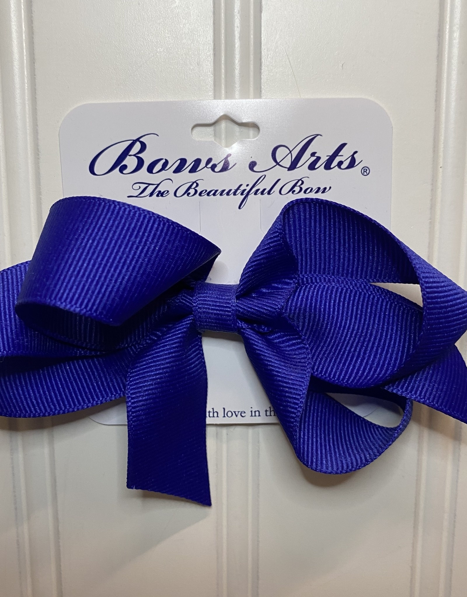 "Bows Arts Small Classic Bow 4"" - Royal Blue"