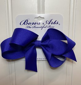 "Bows Arts Small Classic Bow 4"" - Royal Blue"