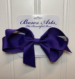 "Bows Arts Small Classic Bow 4"" - Regal Purple"