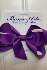 "Bows Arts Small Classic Bow 4"" - Royal Orchid"