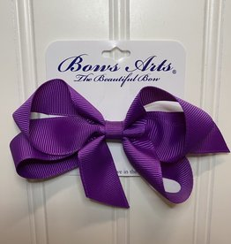 "Bows Arts Small Classic Bow 4"" - Royal Orchid"