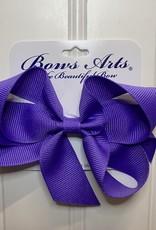 """Bows Arts Small Classic Bow 4"""" - Delphinium"""