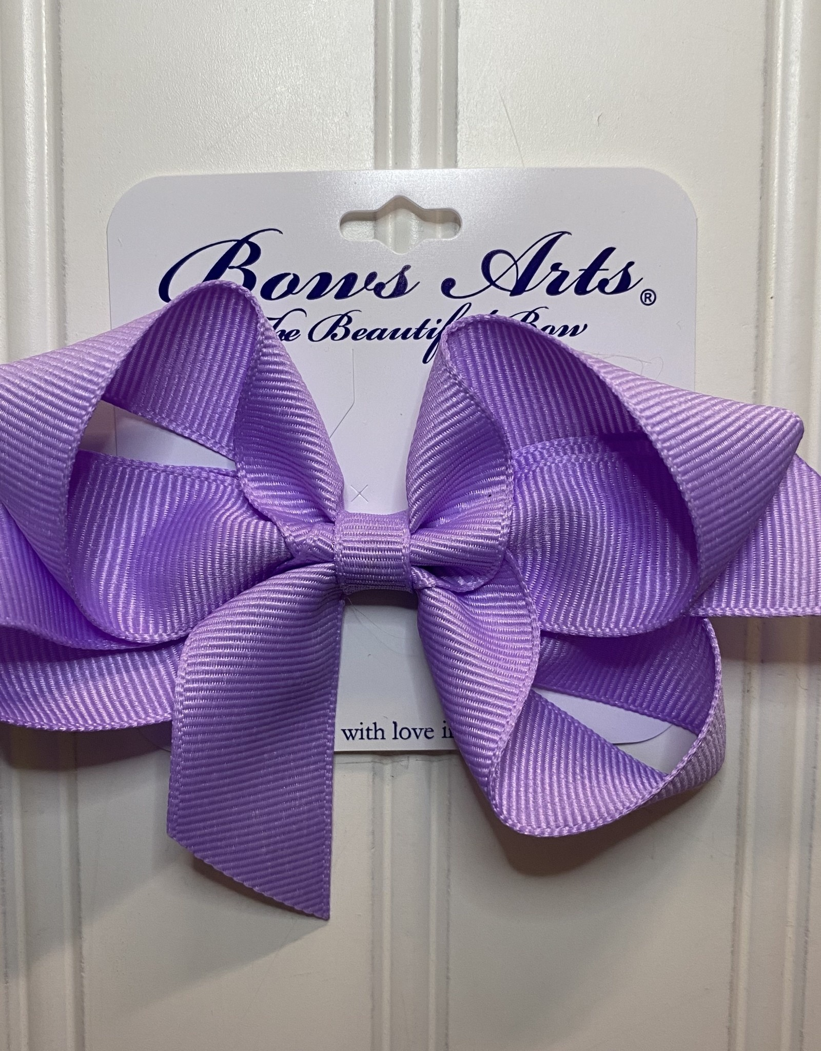 "Bows Arts Small Classic Bow 4"" - Light Orchid"