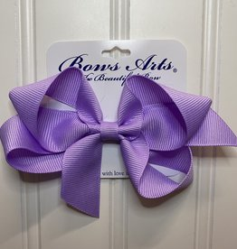 """Bows Arts Small Classic Bow 4"""" - Light Orchid"""