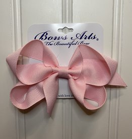 """Bows Arts Small Classic Bow 4"""" - Light Pink"""