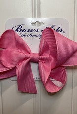 "Bows Arts Small Classic Bow 4"" - Hot Pink"