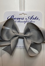 "Bows Arts Small Classic Bow 4"" - Grey"