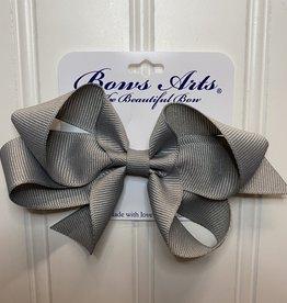 "Bows Arts Small Classic Bow 4"" - Grey"