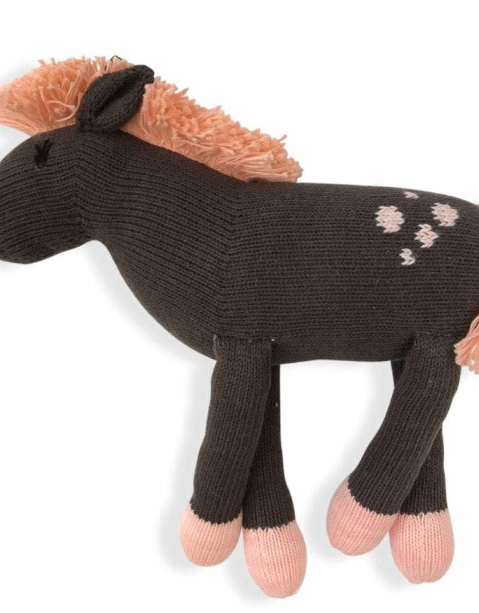 Finn + Emma Rattle Buddy Molly the Horse