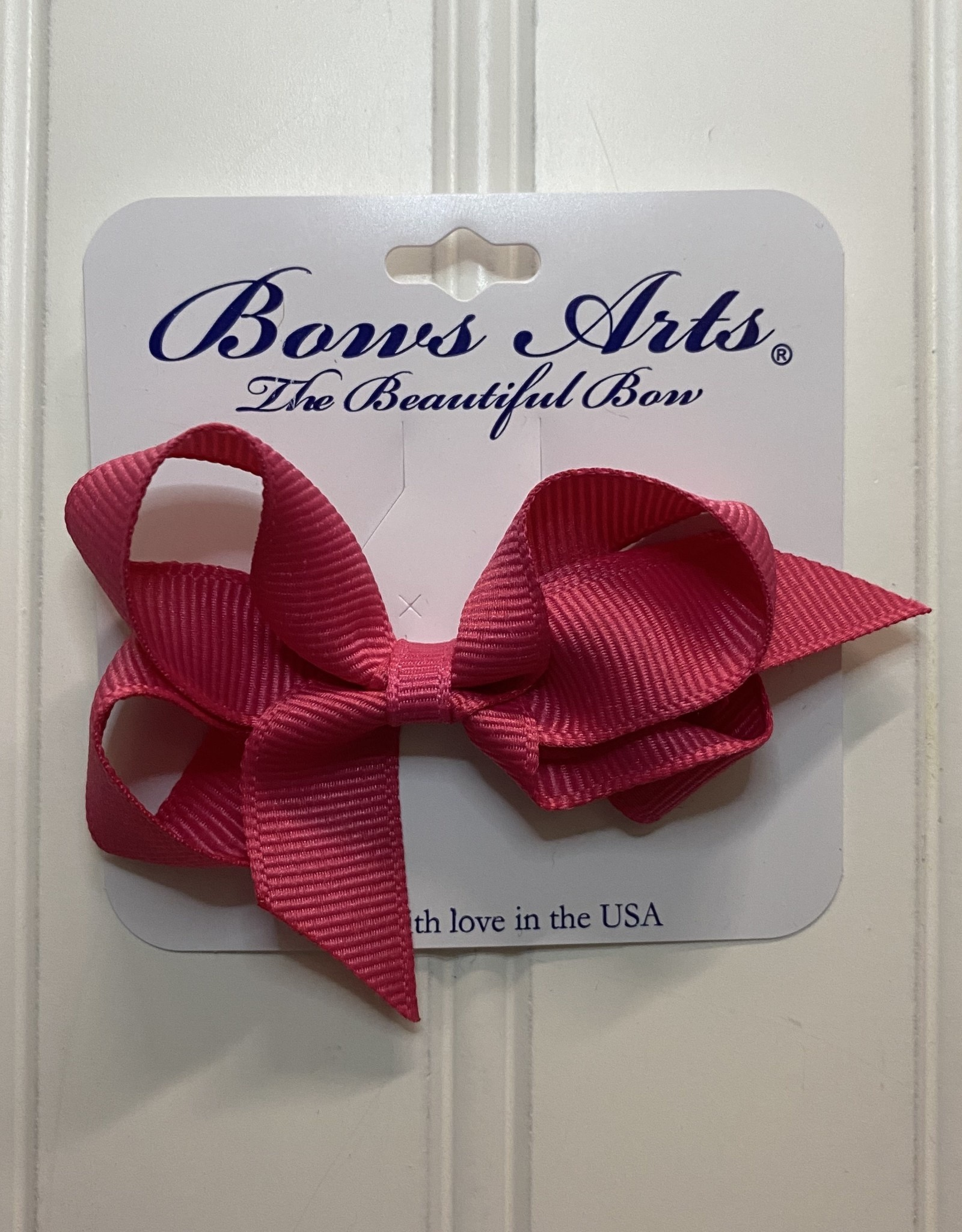 """Bows Arts Toddler Classic Bow 3"""" - Shocking Pink"""