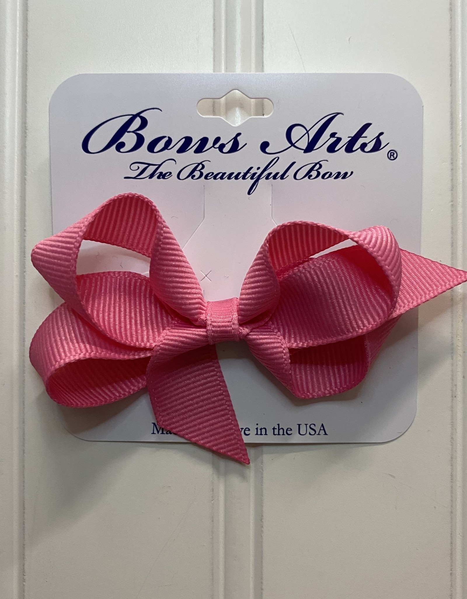 """Bows Arts Toddler Classic Bow 3"""" - Hot Pink"""