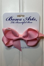 "Bows Arts Toddler Classic Bow 3"" - Pink"