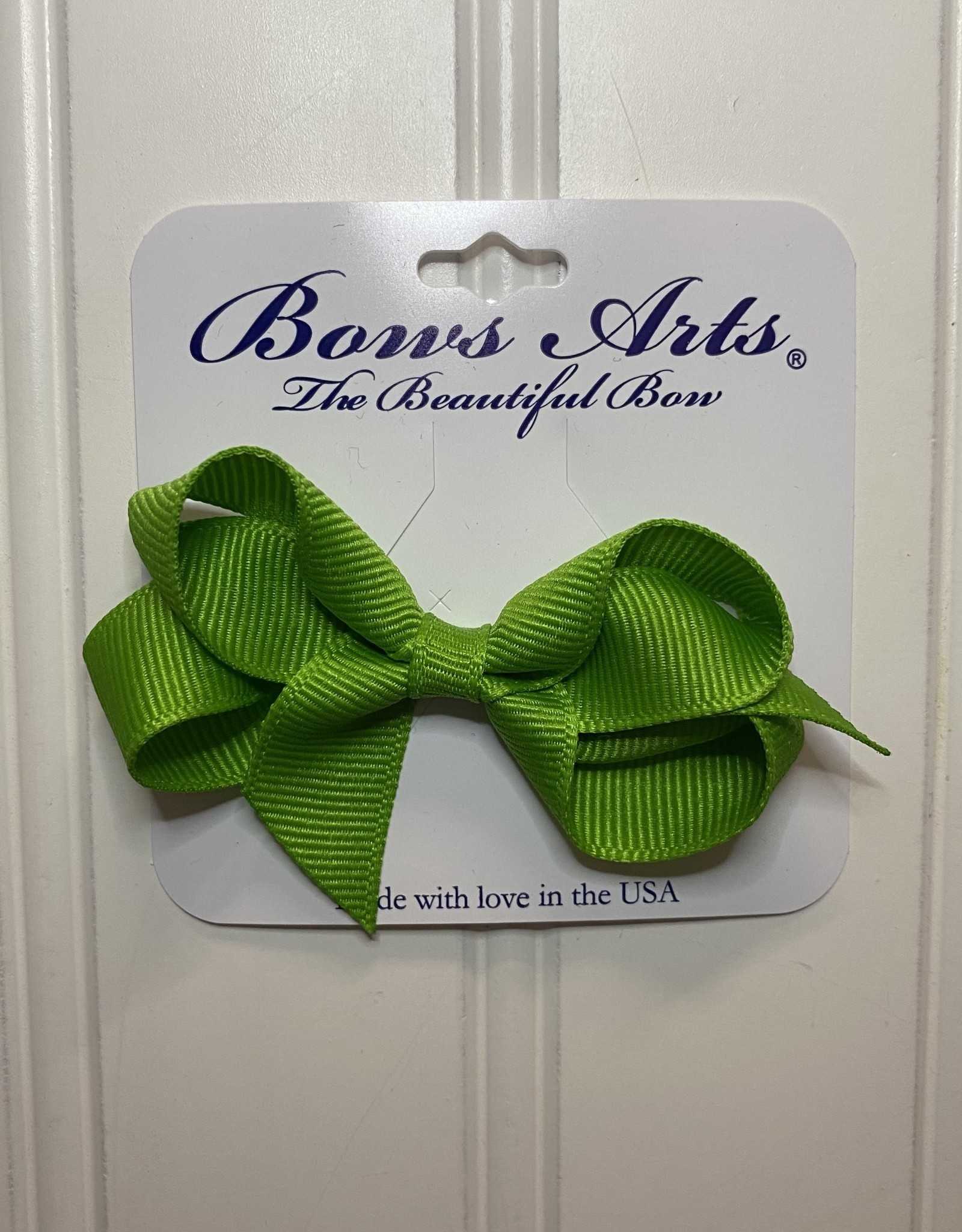 """Bows Arts Toddler Classic Bow 3"""" - Apple"""
