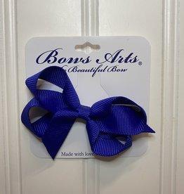 """Bows Arts Toddler Classic Bow 3"""" - Royal"""