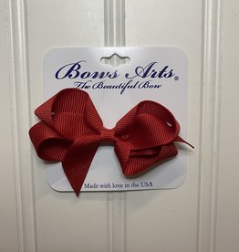 """Bows Arts Toddler Classic Bow 3"""" - Red"""