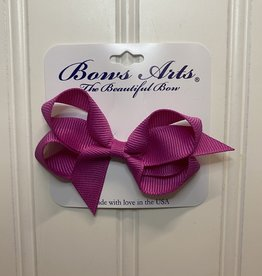 """Bows Arts Toddler Classic Bow 3"""" - Wildberry"""