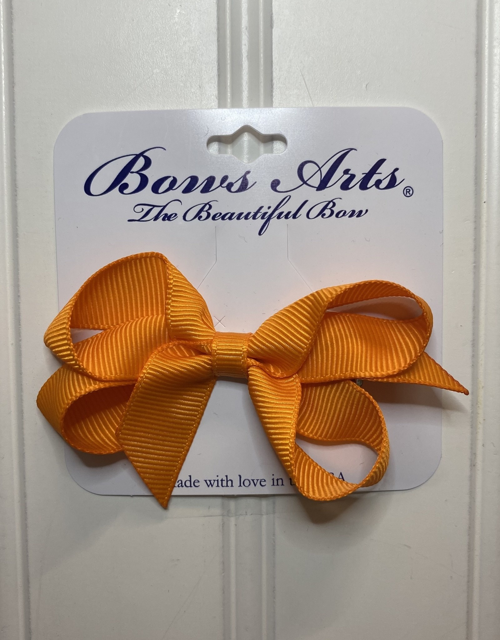 "Bows Arts Toddler Classic Bow 3"" - Tangerine"