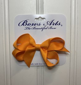 """Bows Arts Toddler Classic Bow 3"""" - Tangerine"""