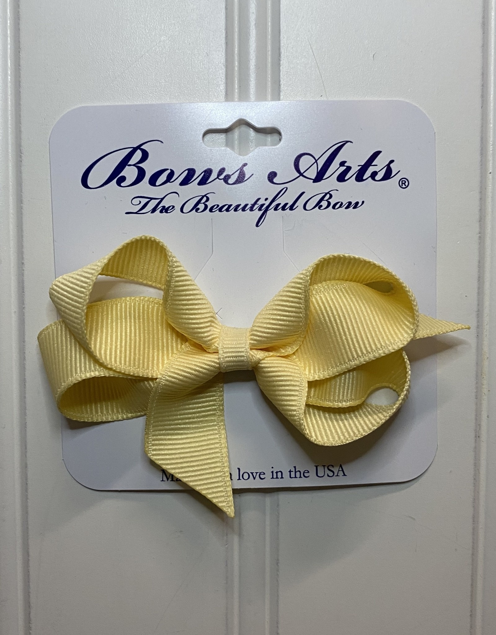 "Bows Arts Toddler Classic Bow 3"" - Wheat"