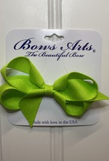 "Bows Arts Toddler Classic Bow 3"" - New Chartreuse"