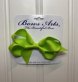 """Bows Arts Toddler Classic Bow 3"""" - New Chartreuse"""