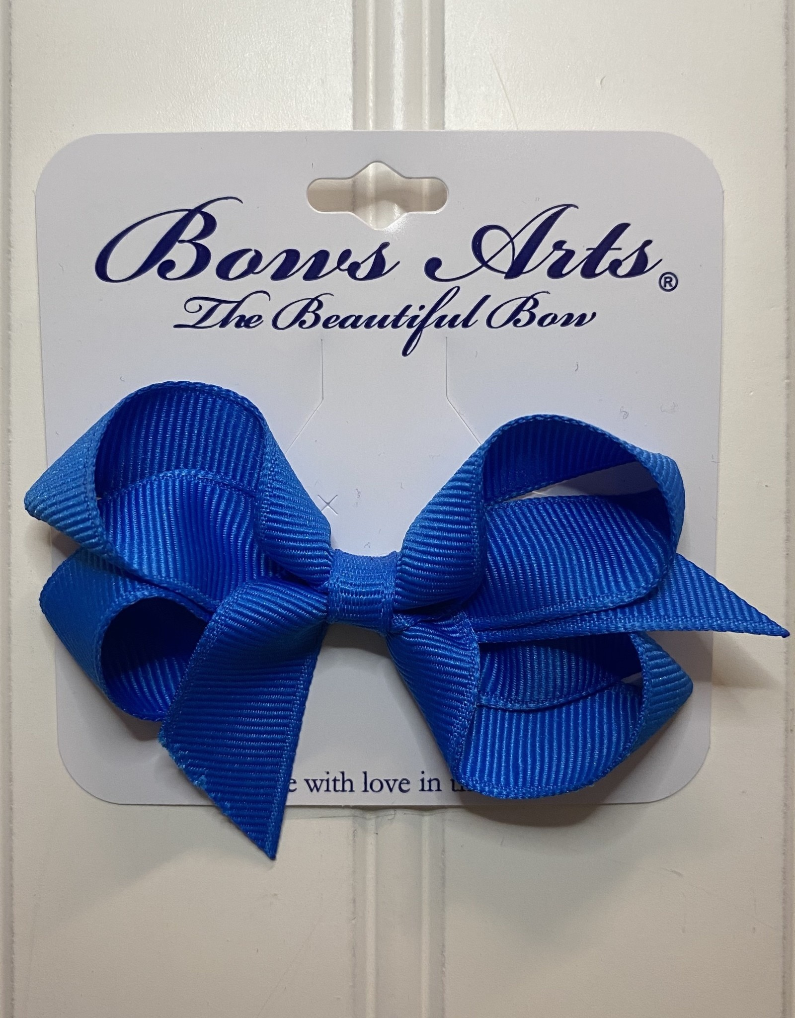 "Bows Arts Toddler Classic Bow 3"" - Aegean Blue"