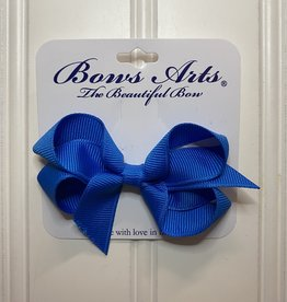 """Bows Arts Toddler Classic Bow 3"""" - Aegean Blue"""
