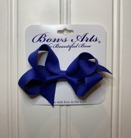 """Bows Arts Toddler Classic Bow 3"""" - Light Navy"""