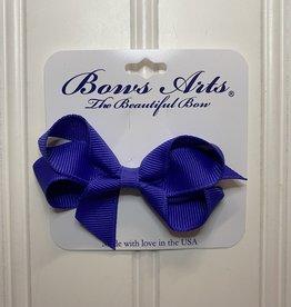 "Bows Arts Toddler Classic Bow 3"" - Iris"