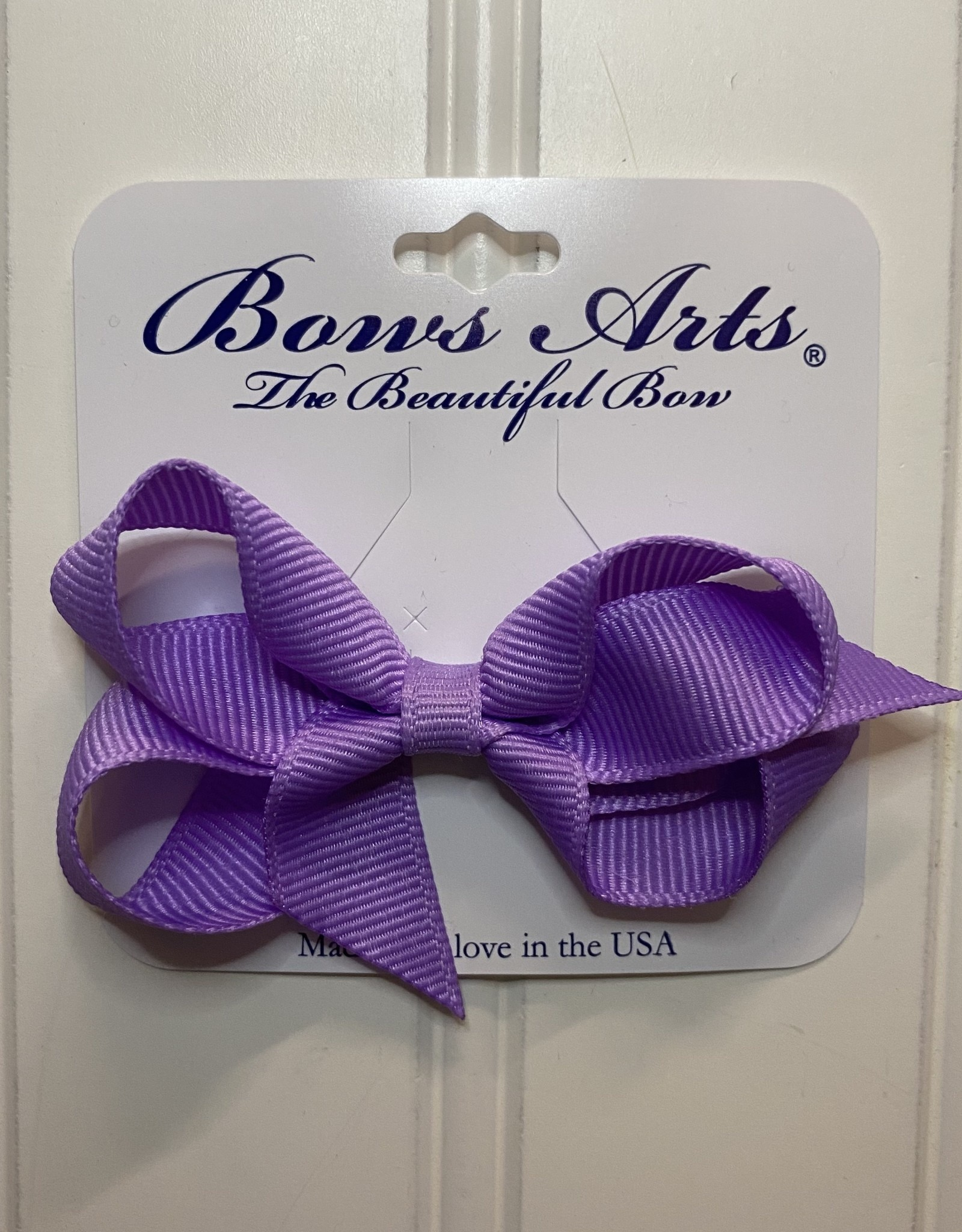 """Bows Arts Toddler Classic Bow 3"""" - Light Orchid"""