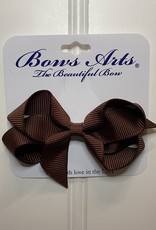 "Bows Arts Toddler Classic Bow 3"" - Cappuccino"