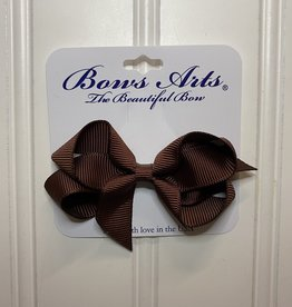 """Bows Arts Toddler Classic Bow 3"""" - Cappuccino"""