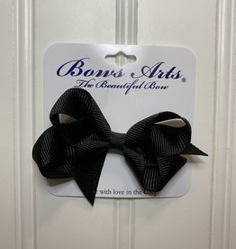 """Bows Arts Toddler Classic Bow 3"""" - Black"""