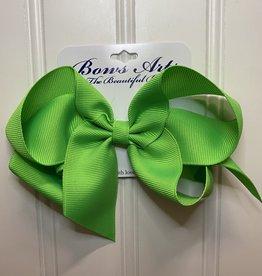 "Bows Arts Big Classic Bow 5"" - Creme de Menthe"