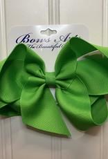 "Bows Arts Big Classic Bow 5"" - Pure Green"