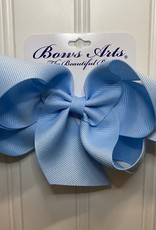 "Bows Arts Big Classic Bow 5"" - Light Blue"