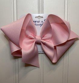 """Bows Arts Big Classic Bow 5"""" - Lt Pink"""
