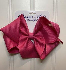 "Bows Arts Big Classic Bow 5"" - Shocking  Pink"