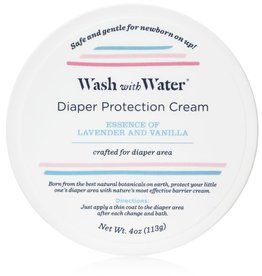 Wash with Water Baby Diper Protection Cream Lavender Vanilla