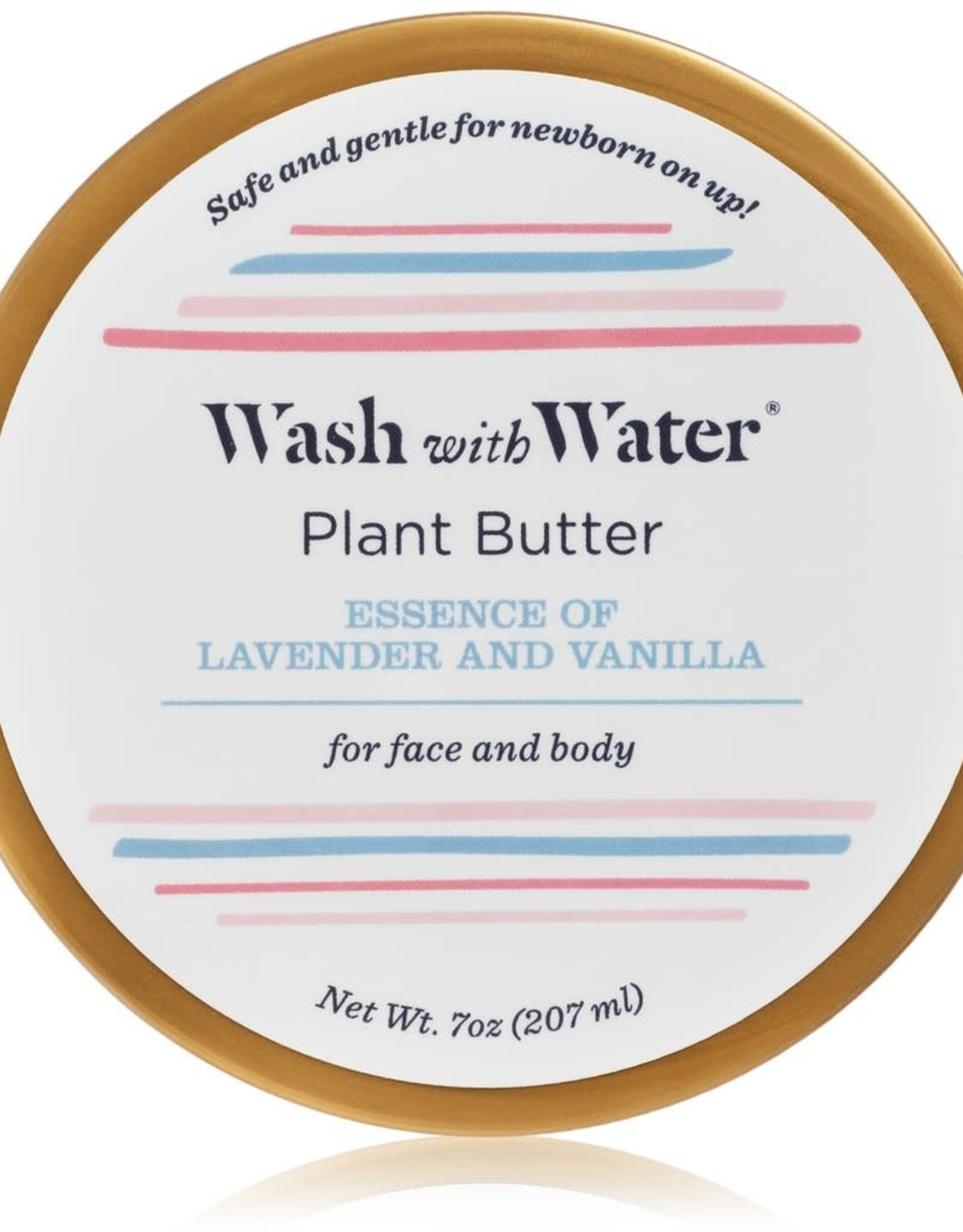 Wash with Water Baby & Mama Plant Butter Moisturizer Lavender Vanilla