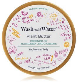 Wash with Water Plant Butter Moisturizer Mandarin & Jasmine