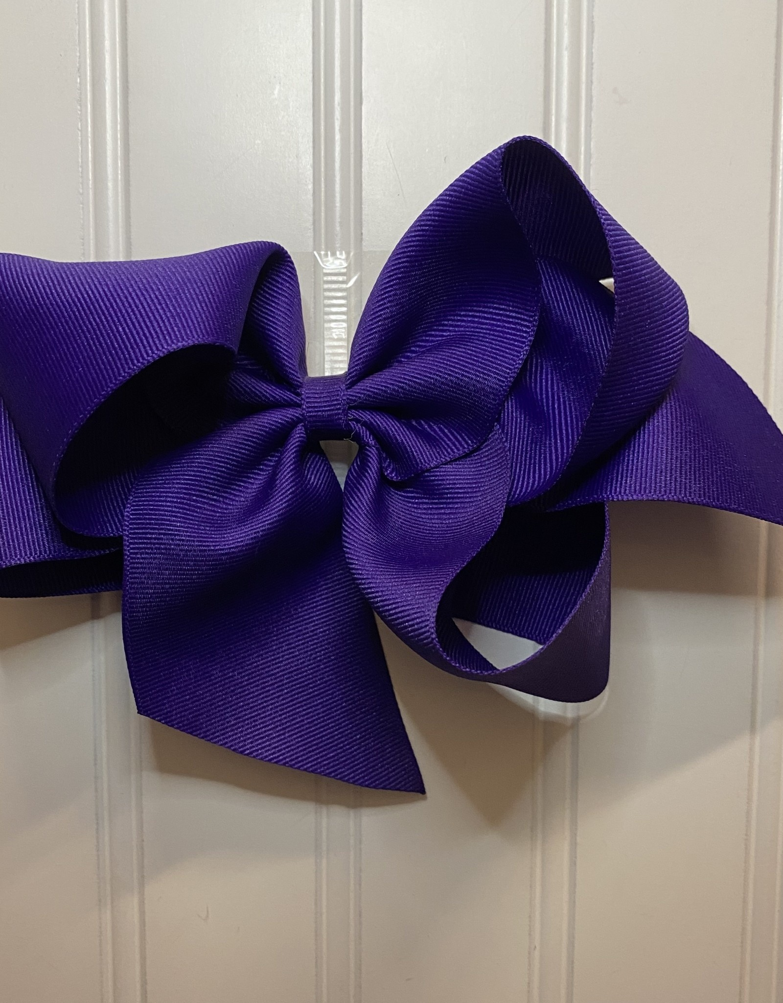 "Bows Arts Giant Classic Bow 7"" - Regal Purple"