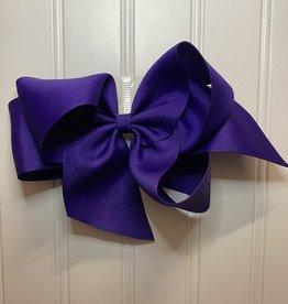 "Bows Arts Giant Classic Bow 7"" - Regal Purple"