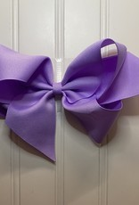 "Bows Arts Giant Classic Bow 7"" - Lt Orchid"