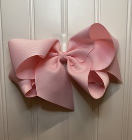 """Bows Arts Giant Classic Bow 7"""" - Lt Pink"""