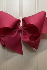 """Bows Arts Giant Classic Bow 7"""" - Shocking Pink"""