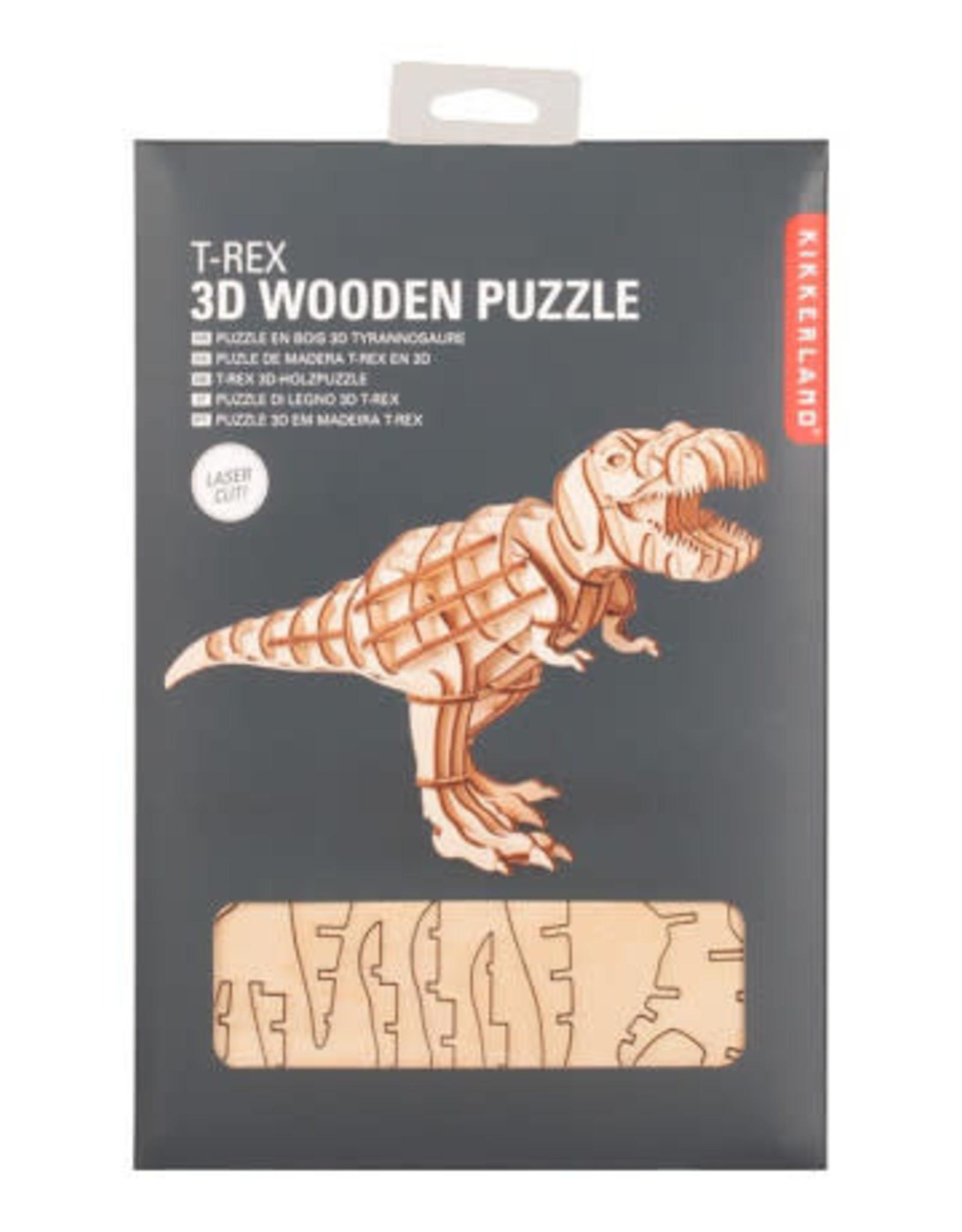 Kikkerland 3D Puzzle T-Rex