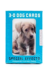 Kikkerland 3D Playing Cards Dog