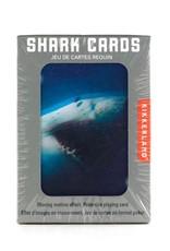 Kikkerland 3D Playing Cards Shark