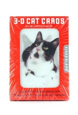 Kikkerland 3D Playing Cards Cat
